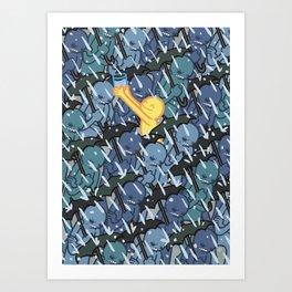 A Glass Half Full Art Print