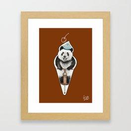 That's not an icecream cone Framed Art Print