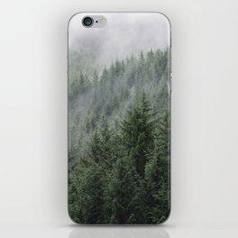Fog Forest iPhone Skin