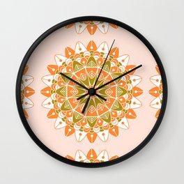 Mandala VI Wall Clock