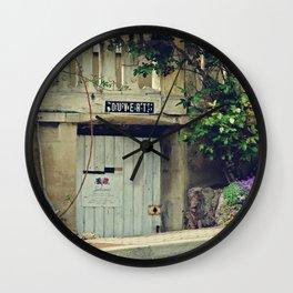 Ouvert Wall Clock