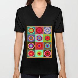 Kandinsky #20 Unisex V-Neck