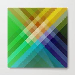 Rainbow of colors 2 Metal Print