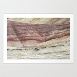Hills as Canvas, No. 3 Art Print
