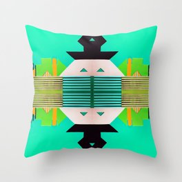 Digital Playground #3 Throw Pillow