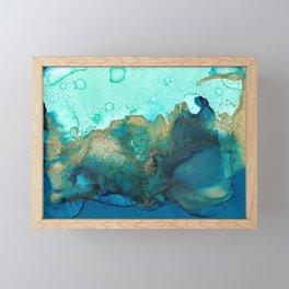 Sky and Ocean Framed Mini Art Print
