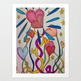 Hold Me In Love Art Print