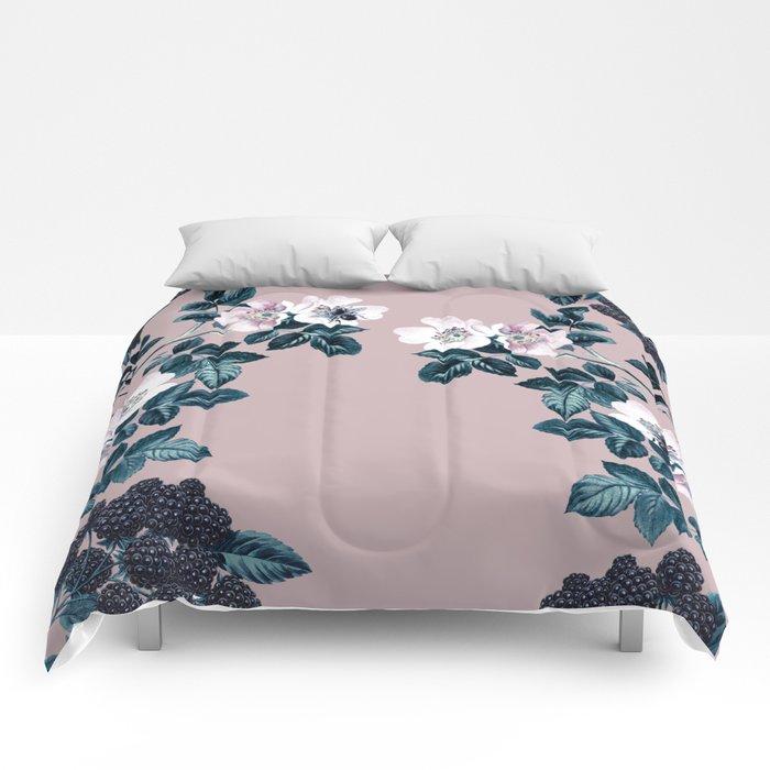 Wild Bee Blackberry Comforters