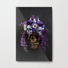 Willow Blossom Muertita Metal Print