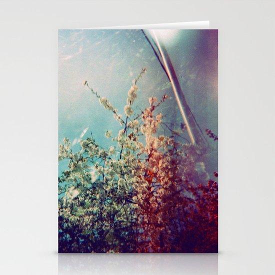 Holga Flowers III Stationery Cards