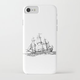 sailing ship . art iPhone Case
