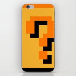 ?Question Mark block- Super Mario Bros. iPhone Skin