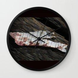 Discarded Art. Wall Clock