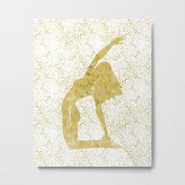 Ustrasana  Metal Print