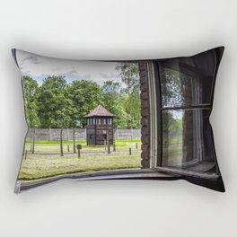 Auschwitz Rectangular Pillow