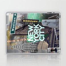 New York City II [green] Laptop & iPad Skin
