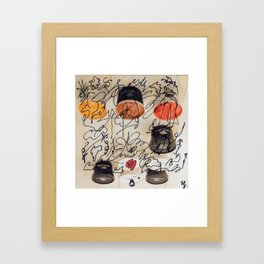 Complex Framed Art Print