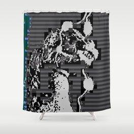 Godzilla (2010) Shower Curtain