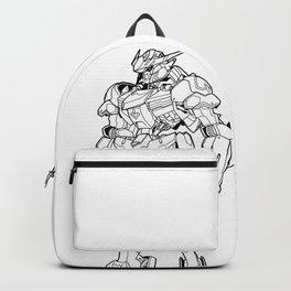 Gundam Barbatos Outline Black Backpack