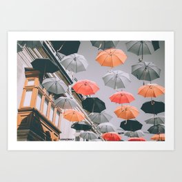 Shade Str. Art Print