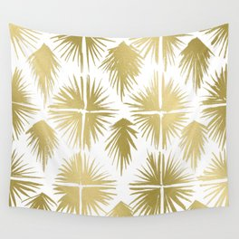 Radiate Gold Wall Tapestry