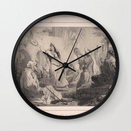 La danse de lAlmee Wall Clock
