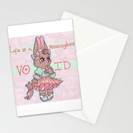 (Franc Lee) Life Is A Meaningless Void Stationery Cards