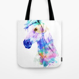 Horse Watercolor, Horse Print, Watercolor Print, Watercolor Animal, Horse Painting, Horse Gift Print Tote Bag