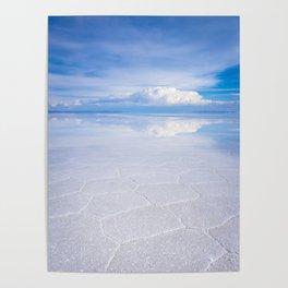 Salar de Uyuni desert, Bolivia Poster