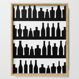 Classic Bottles Serving Tray