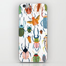 Woodland Beetles iPhone Skin