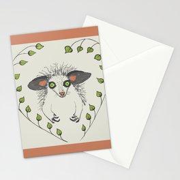 Aye-Aye Portrait Stationery Cards