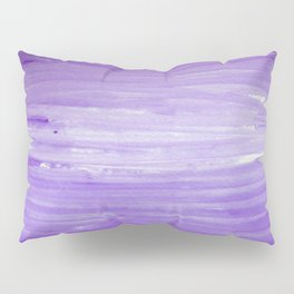 Purple Ombre Stripes Pillow Sham