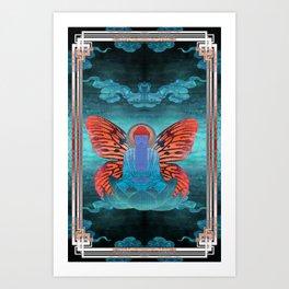 buddherfly #3 Art Print