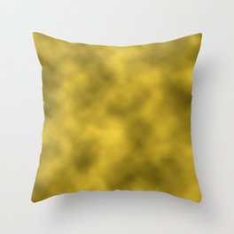 Gold Foil Smooth Metal Texture Festive / Christmas Throw Pillow