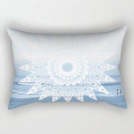 Surf mandala Rectangular Pillow