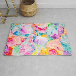 flower crusher Rug