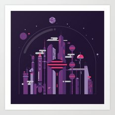 World of Tomorrow Art Print