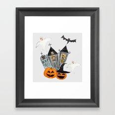 Halloween  party  Framed Art Print