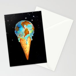 global warming Stationery Cards