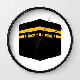 Qibla Icon Wall Clock