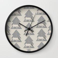 Pattern Reno Wall Clock