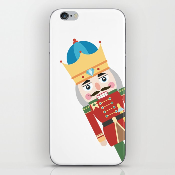 Popping Up NutKing iPhone Skin by maskcrow