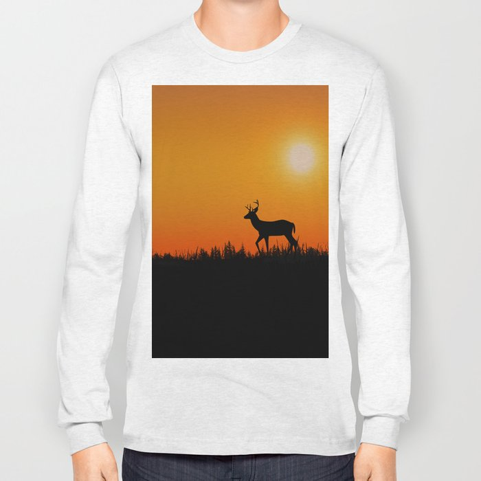 deer Long Sleeve T-shirt