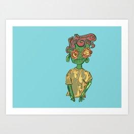 bl00 boy Art Print
