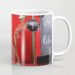 My Love is Like Coffee Mug