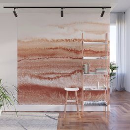 WITHIN THE TIDES BURNISH RED by Monika Strigel Wall Mural
