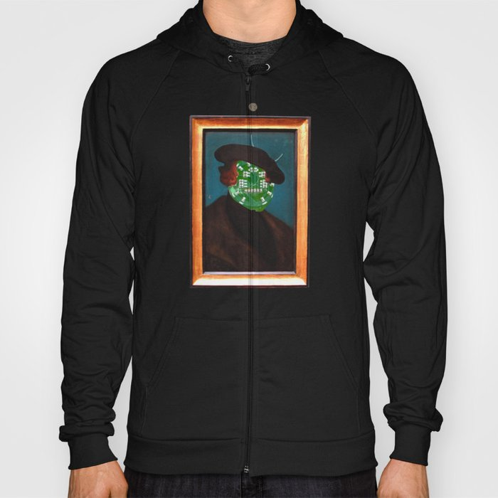 The Painting Collection Circuit Collage Hoody