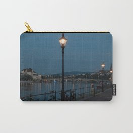 Basel at night Carry-All Pouch