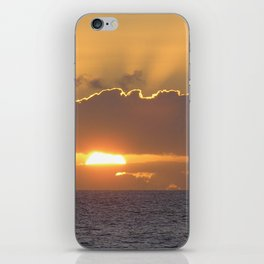 Maui Hawaii - Hana Beach Sunset iPhone Skin